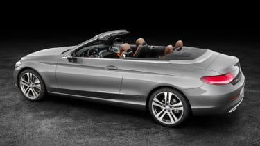 Mercedes C-Class Cabriolet - rear studio