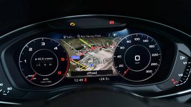 New Audi A4 2016 dials
