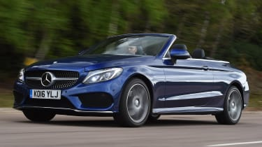 Mercedes C-Class Cabriolet - best used convertibles