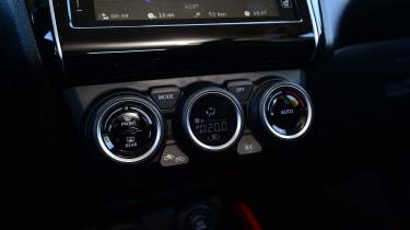 Suzuki Swift Sport - centre console