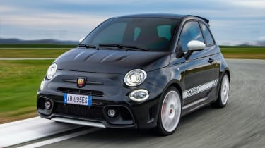 Abarth 695 Esseesse - front action