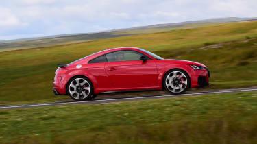Audi TT RS - side shot