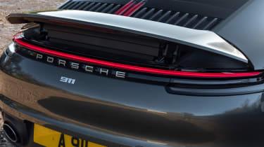 Porsche 911 Carrera - spoiler raised