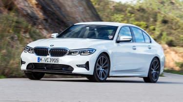 BMW 320d - front action