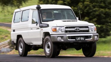 toyota land cruiser 70 gxl