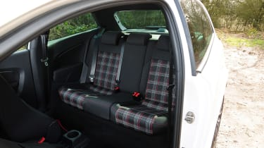 VW Polo GTI 2015 rear seats