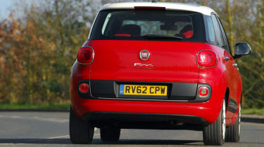 Used Fiat 500L - rear action