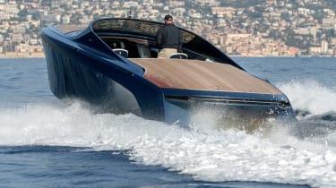 Aston Martin AM37S boat - rear