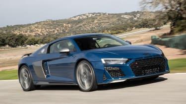 Audi R8 - front