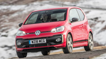 Volkswagen up! GTI - front action