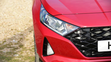 Hyundai i20 - headlight
