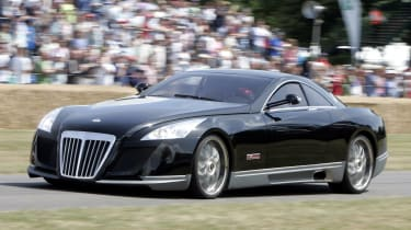 The Maybach Exelero cost its first owner over £5.2million.