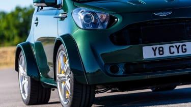 Aston Martin V8 Cygnet - front/side detail