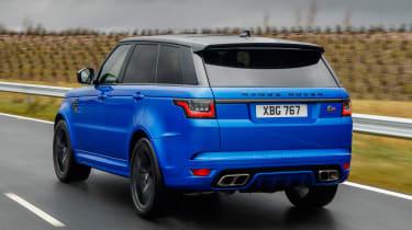 Range Rover Sport SVR - rear tracking