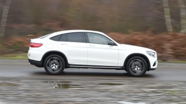 Mercedes GLC Coupe - side