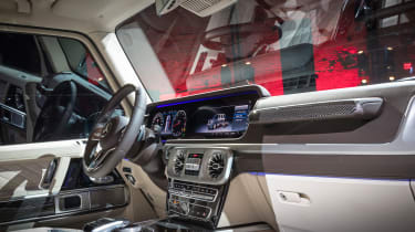 New Mercedes G-Class revealed - interior