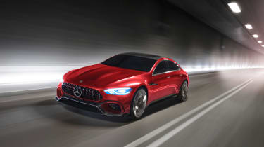 Mercedes-AMG GT Concept - front panning