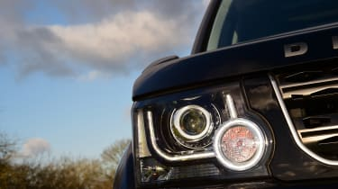 Land Rover Discovery Mk4 - front light