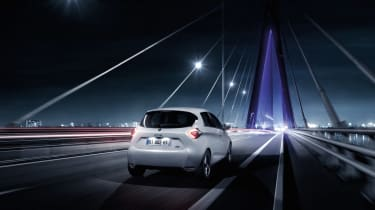 Renault Zoe 2017 - rear tracking