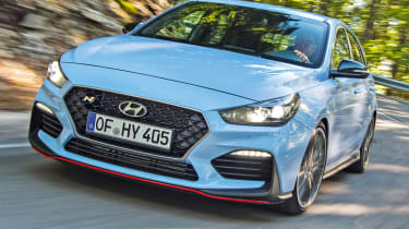 Best new cars of 2017: our road tests of the year - Hyundai i30 N
