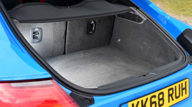 Audi TTS - boot
