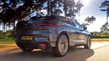 Jaguar I-Pace - rear tracking