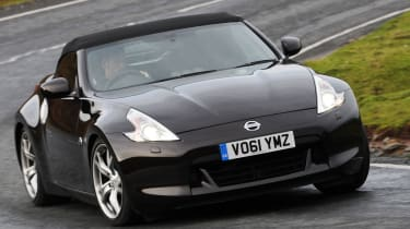 Despite sheding the roof off the 370Z Raodaster provides a raw driving experience.
