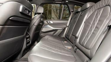 bmw x5 m50d rear seat legroom