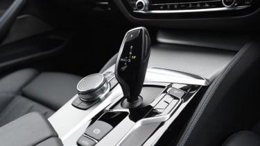 BMW 520d - centre console