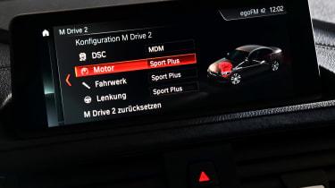 BMW M2 CS - infotainment