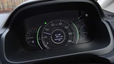 Honda CR-V long-termer - dials