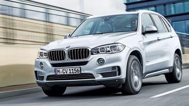 BMW X5 xDrive40e - front driving