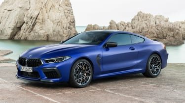 BMW M8 Competition - front static