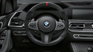 BMW X5 M Performance Parts - dash