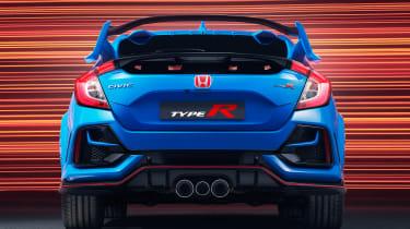 Honda Civic Type R GT - full rear