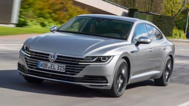 New Volkswagen Arteon - front