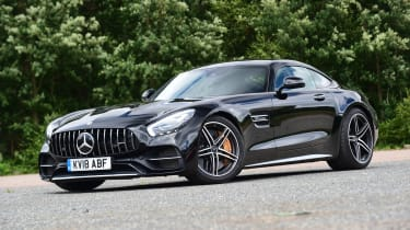 Mercedes-AMG GT C - front action