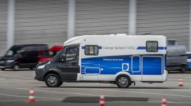 2018 Mercedes Concept Sprinter F-CELL camper van other side