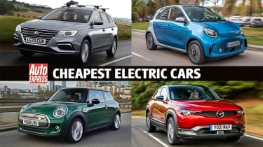 Cheapest electric cars - header pic