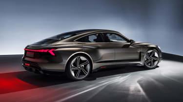 Audi e-tron GT concept - side studio
