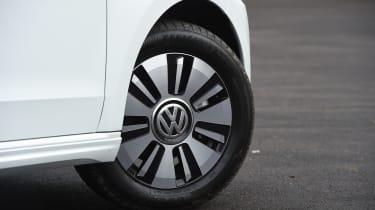 Volkswagen e-up! electric car 2017 - wheel