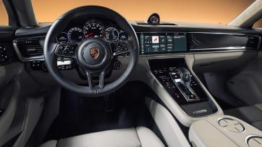 Porsche Panamera - studio interior