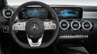 New Mercedes A-Class - studio interior