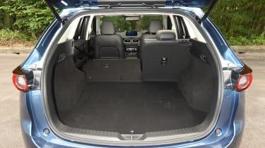 Mazda CX-5 vs Skoda Kodiaq vs VW Tiguan - Mazda CX-5 boot
