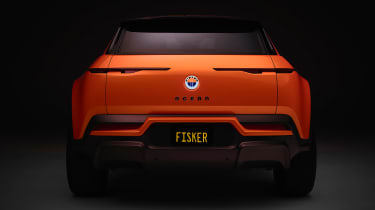 Fisker Ocean - rear full front