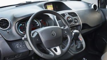 Renault Kangoo Z.E. - steering wheel
