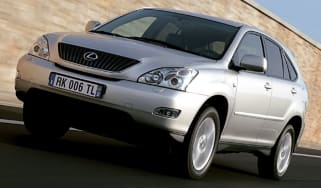 Front view of Lexus RX350