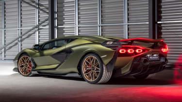Lamborghini Sian - rear static