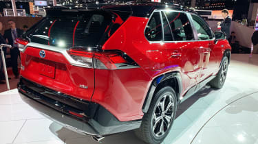 Toyota RAV4 Prime PHEV - Los Angeles rear
