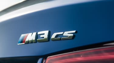 BMW M3 CS - badge